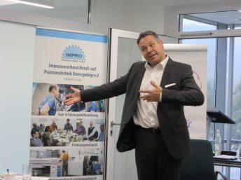"""10.10.2017: Seminar """"EINKAUF-Verhandlungsführung"""" mit Urs Altmannsberger"""
