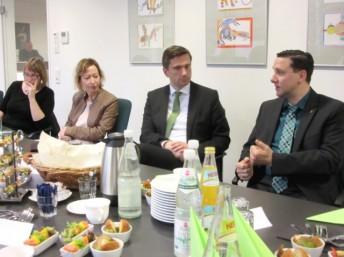 Arbeitsgespräch mit Sächsischem Staatsminister M. Dulig in Bärenstein